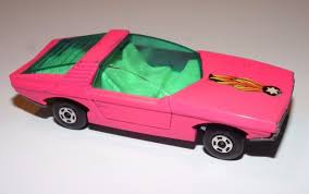 Vintage Matchbox Lesney 40 Pink Vauxhall Guildsman With Superfast
