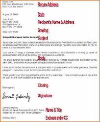 10 business letter format budget template letter