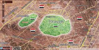 Damascus Syria Map by Syrian Army Besieges Terrorists Stronghold Inside Damascus U2013 Map