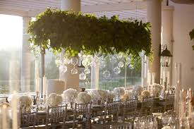 wedding reception decoration wedding reception decor trend we suspended greenery