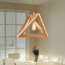 Wooden Chandeliers New Modern Wooden Ceiling Light Pendant L Lighting Light