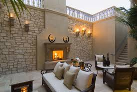 Outdoor Patio Fireplaces The Outdoor Fireplace Trend Heats Up Realm Of Design Inc