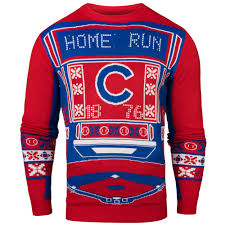 light up sweater chicago cubs light up sweater by klew
