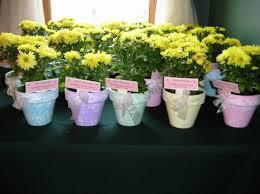 flower pot favors bridal shower favors need help