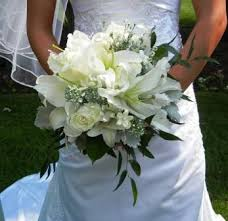 Casablanca Flower - all white wedding flowers with casablanca lilies google search