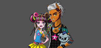 draculaura and clawd draculaura and clawd tokidoki kawaii by azzzaell on deviantart