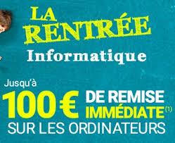 bureau rue du commerce bon plan jusqu à 100 euros de remise sur les pc portables et de