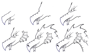 how to draw a dragon for kids step by step dragons for kids for