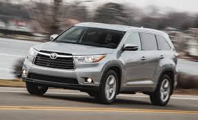 nissan pathfinder vs toyota highlander 2016 toyota highlander u2013 review u2013 car and driver