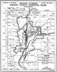 Grand Teton Map Grand Teton Np A Place Called Jackson Hole Chapter 17