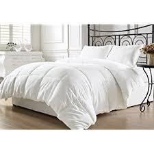 Duvet Vs Down Comforter Amazon Com Kinglinen White Down Alternative Comforter Duvet