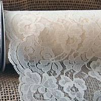 lace ribbon by the yard white lace ribbon scalloped edge 9 inch x 10 yard roll buy now