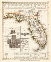 Flordia Map Antique Florida Maps My Blog