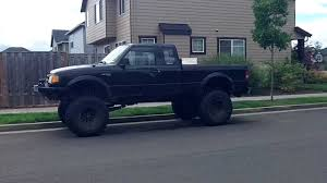 tire size for ford ranger way big tires for a ford ranger