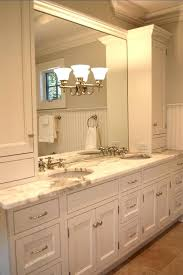 bathroom vanity storage ideas countertop vanity cabinet top handsome bathroom transitional design