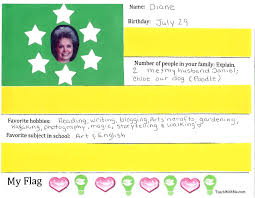 Customize Your Own Flag Classroom Freebies Flag Activities