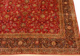 Oriental Rugs For Sale By Owner 14 U0027 X 22 U0027 Red Kashan Persian Rug With Shah Abbas Field Catalina Rug