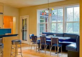 interesting diner style kitchen table beautiful interior designing