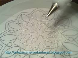 Lace Cake Decorating Techniques 7 Best Royal Icing Images On Pinterest Food Baby Showers And