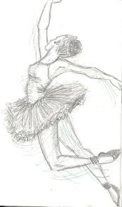 drawing of dancer ballet sketches 1 by annie cant draw on