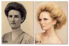 old fashioned short hair gibson girl frothy look fashionable hairstyle pinterest