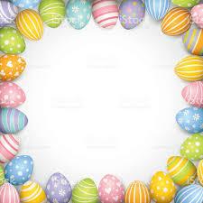 easter egg border stock vector art 534476841 istock