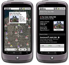 zillow app for android zillow is now on android navigadget