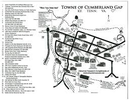 Tennessee On Map by Maps Historic Town Of Cumberland Gap Tennessee