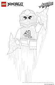 kai lego ninjago coloring pages printable
