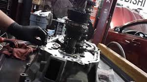 mitusbishi 4g eclipse transmission repair of input shaft bearing
