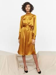 silk dresses isadora silk midi dress women s party dresses kitri