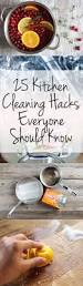 Kitchen Organization Hacks by Best 25 Kitchen Cleaning Tips Ideas On Pinterest Kitchen