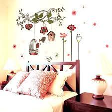 elegant headboard wall decal headboards compact vinyl wall sticker