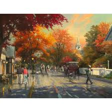Beautiful Art Pictures by New York Fifth Avenue U2013 Limited Edition Art The Thomas Kinkade