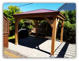 Outdoor Patio Gazebo 12x12 by Professional Gazebo Installers