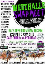 Weethalle Swap Meet