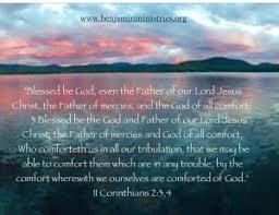May The God Of All Comfort Testimonials Benjamin Ministries
