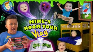 house tour 2 0 mike u0027s room tour gives us goosebumps shawn gets