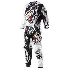 troy lee designs motocross gear troy lee designs predator white black gp motocross pants jersey