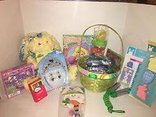 pre made easter baskets lot easter basket toys ebay
