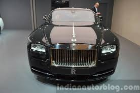 roll royce wraith 2015 rolls royce wraith inspired by music front at iaa 2015 indian