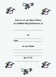 free graduation invites