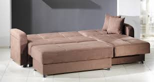 Sleeper Sofa With Storage Chaise New Leather Sleeper Sofa With Chaise 2018 Couches And Sofas Ideas