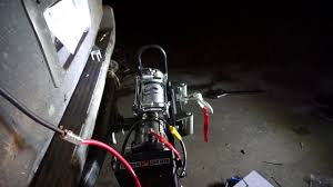 harbor freight winch install youtube