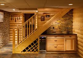 Basement Ideas For Small Spaces Basement Bar Ideas For Small Spaces Rustic With Cabin Log Great