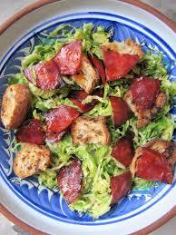 cuisiner choux de bruxelles frais la cuisine d ici et d isca salade de choux de bruxelles au chorizo