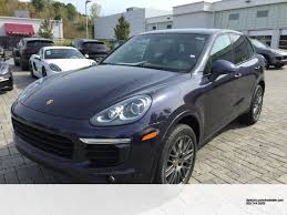 new 2018 porsche cayenne platinum edition great color