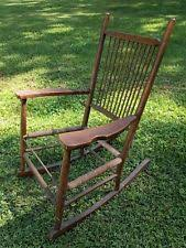 Rocking Chair Antique Styles Shaker Style Rocking Chairs Antique Furniture Ebay
