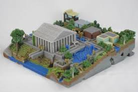figureprints turns minecraft worlds into real life miniatures