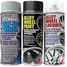 e tech professional technik gun metal grey car alloy wheel spray